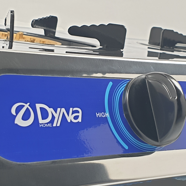 Dyna Home เตาแก๊สตั้งโต๊ะสเตนเลส 2หัว IR-5172 (หัวผสม)