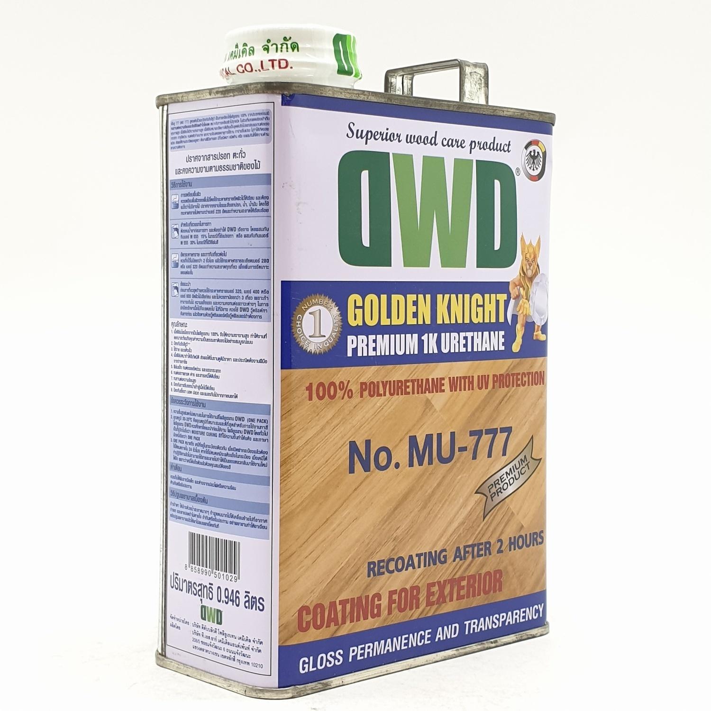 DWD สีเคลือบพื้นไม้ (0.946ลิตร) MU-777