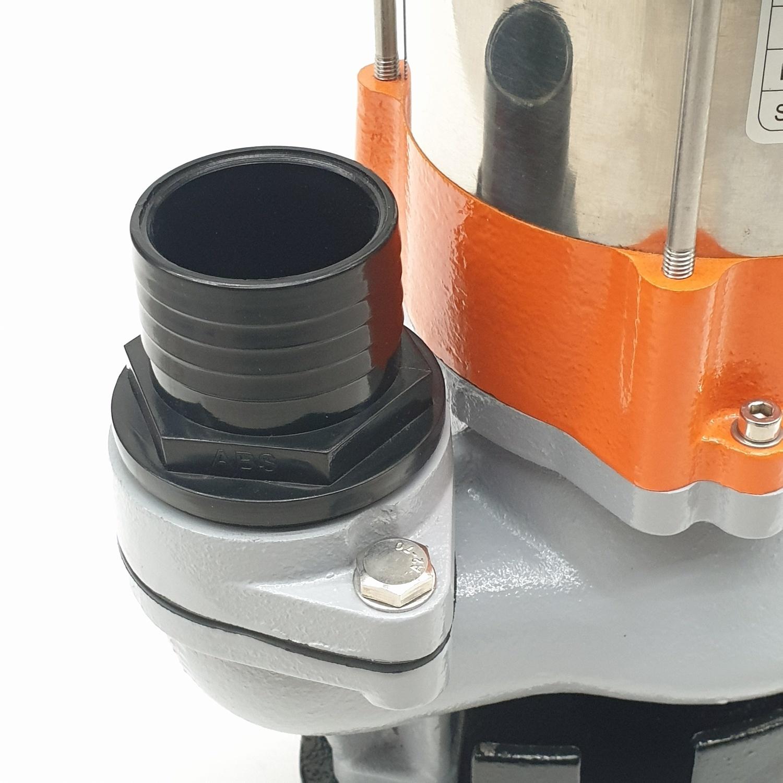 SUMOTO POMPA ปั๊มจุ่มน้ำเสีย 450วัตต์.พร้อมลูกลอย  VORTEX450F สีส้ม