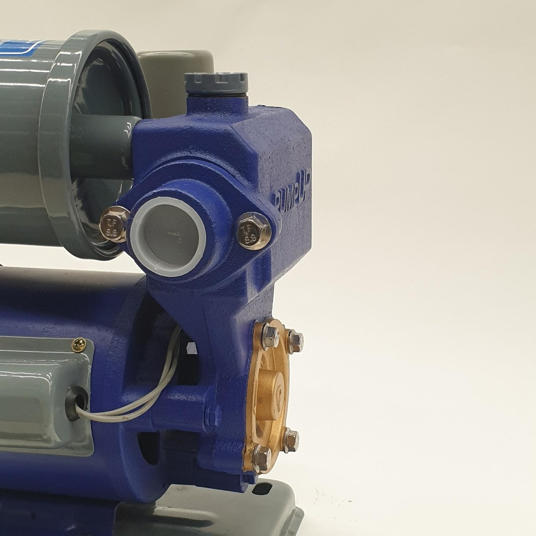 PUMP UP ปั๊มอัตโนมัติถังแรงดันขนาดเล็ก 180W. AUTO180 สีน้ำเงิน