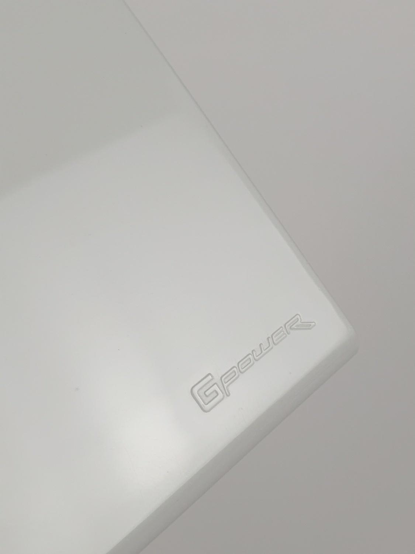 Gpower ฝาพลาสติก 1ช่อง A-101 สีขาว