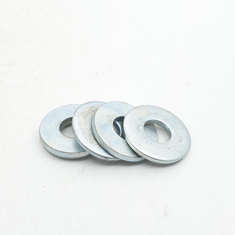 uheng แหวนอีแปะ ชุบขาว 1/2 นิ้ว