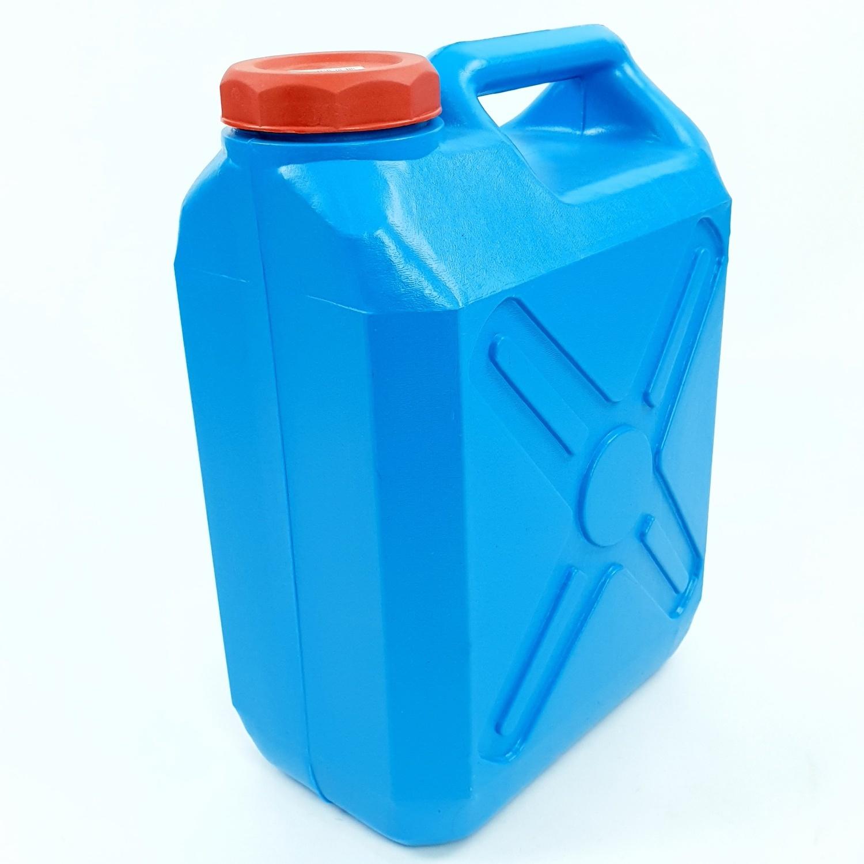 -  ถังแกลลอนพลาสติก  10 ลิตร  สีฟ้า