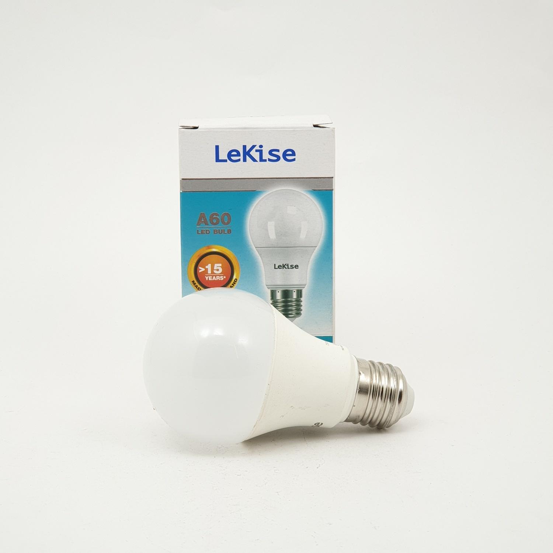 LEKISE หลอดไฟ LED  A60 9W.DL. KLASSIC  สีขาว