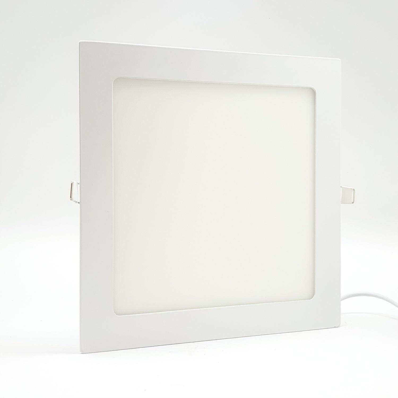 HI-TEK โคมดาวไลท์พาเนล HFLEPSR18D สีขาว