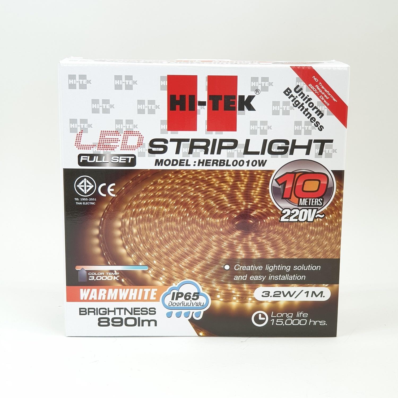 HI-TEK ชุดไฟแอลอีดี เส้นริบบิ้น HERBL0010W