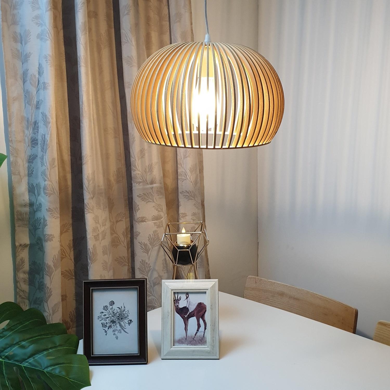 EILON โคมไฟแขวน Loft  YD-DT1554S สีน้ำตาล