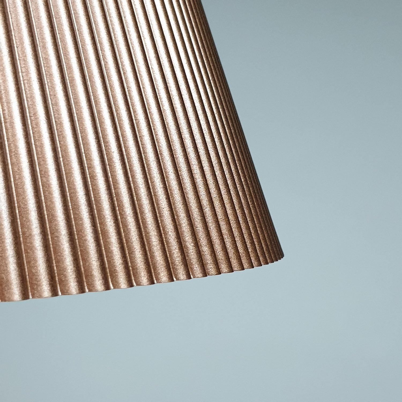 EILON โคมไฟแขวนโมเดิร์น  KDX0003/27 brown สีน้ำตาลอ่อน