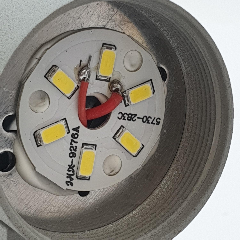 EILON โคมไฟผนังโมเดิร์น   SZ-2363 กันน้ำ IP65 3W*2 สีเทา