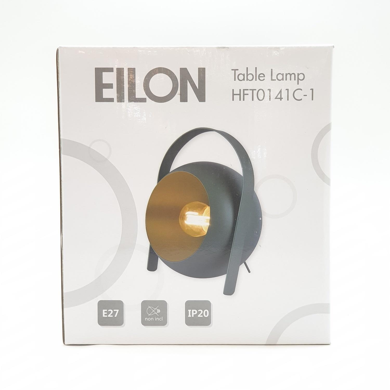 EILON โคมไฟตั้งโต๊ะวินเทจ 40 W  ขั้ว E27  HFT0141C-1 **แถมฟรี 8859548104464  หลอด LED ฟิลาเมนต์ Edison E27 รุ่น GY-003 4 วัตต์ EILON** สีเขียว