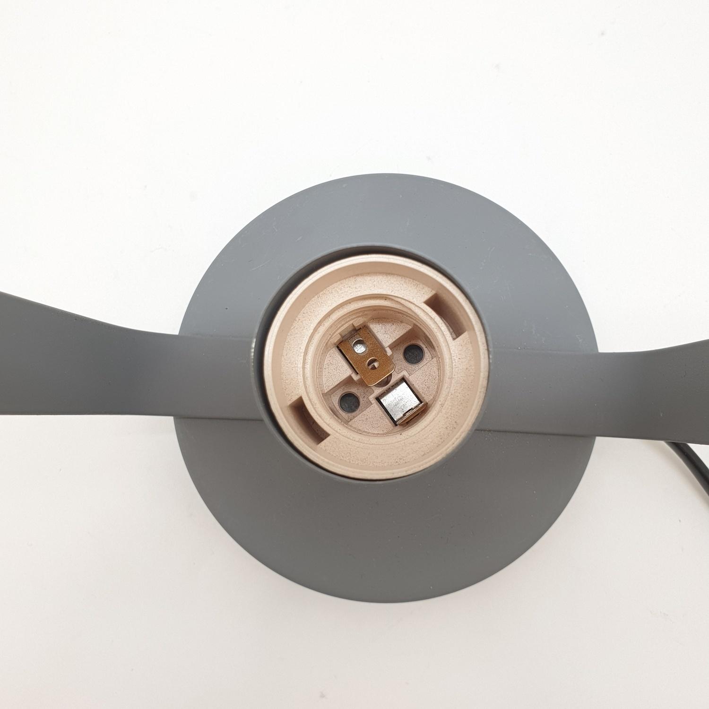 EILON โคมไฟตั้งโต๊ะวินเทจ 40 W ขั้ว E27  HFT0131B-1 สีเทา