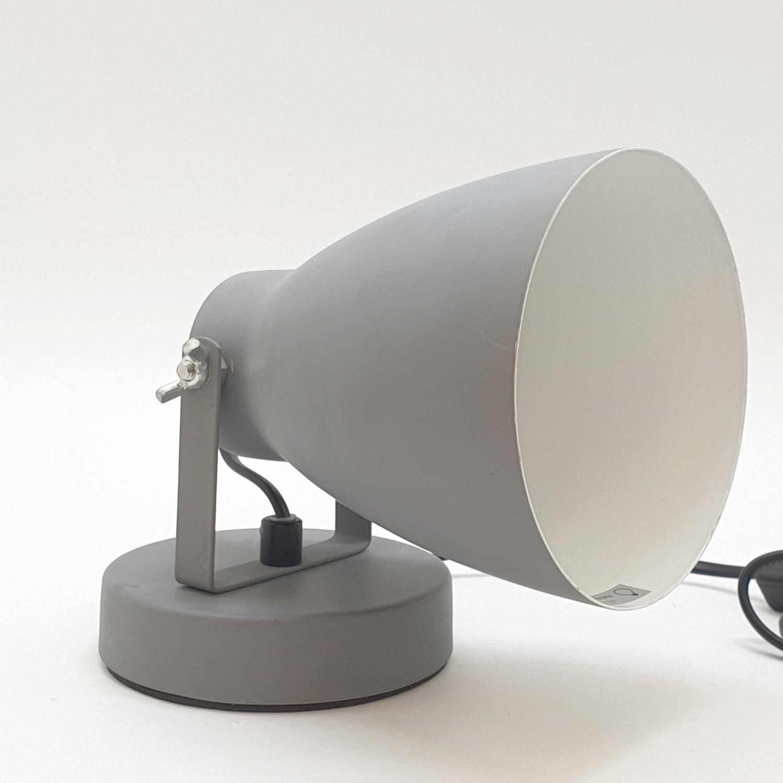 EILON โคมไฟตั้งโต๊ะวินเทจ 40 W  ขั้ว E27  HFT0366B-1A  สีเทา