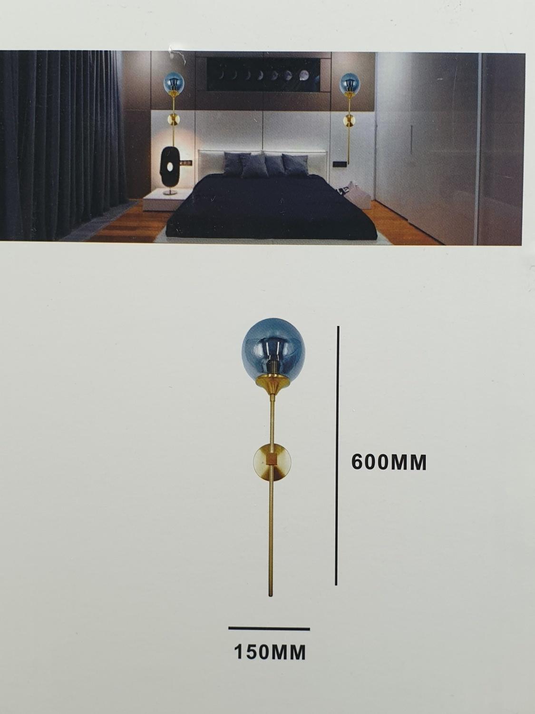 EILON โคมไฟติดผนังโมเดิร์น E27 5W 3000K W5446 แสงวอร์มไวท์