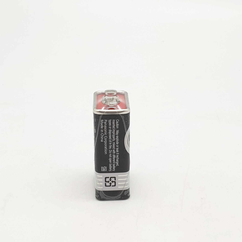 PANASONIC ถ่านไฟฉาย6F22NT/1SL(ถ่าน9Vสีดำ)