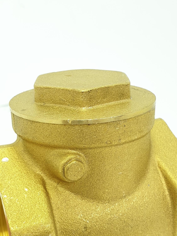 VAVO เช็ควาล์วสวิงทองเหลือง 2 นิ้ว  YF-4055   สีทอง