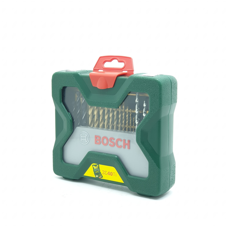 BOSCH ชุดดอกเจาะ 40 pcs x line เขียว