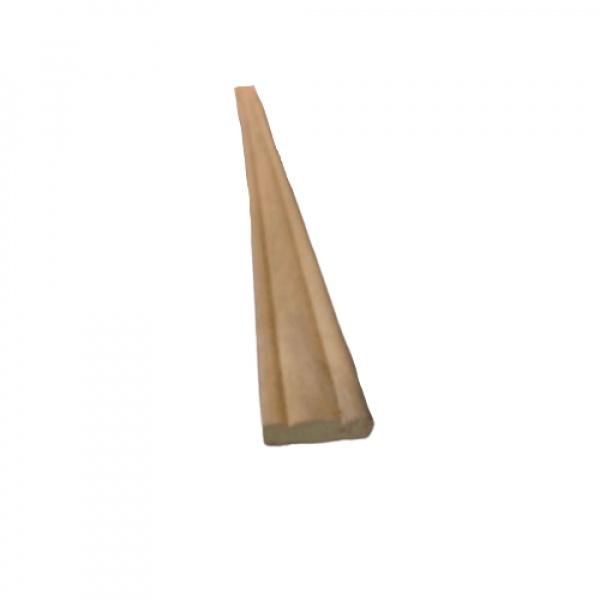 -  คิ้วไม้สัก ขนาด  1/4นิ้ว x1นิ้ว x7.1/2ฟุต SJK21