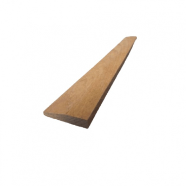 -  คิ้วไม้สัก ขนาด 3/8นิ้ว x1.1/2นิ้ว x6.5ฟุต SJK23