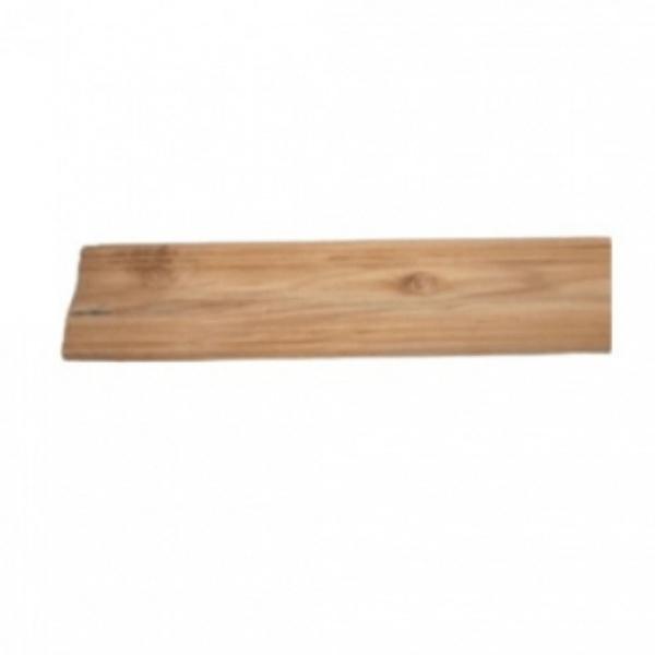 - ไม้บัวล่างไม้สัก(ลายโค้ง)  ขนาด 5/8นิ้ว x4นิ้ว x1.80ม. SJK62