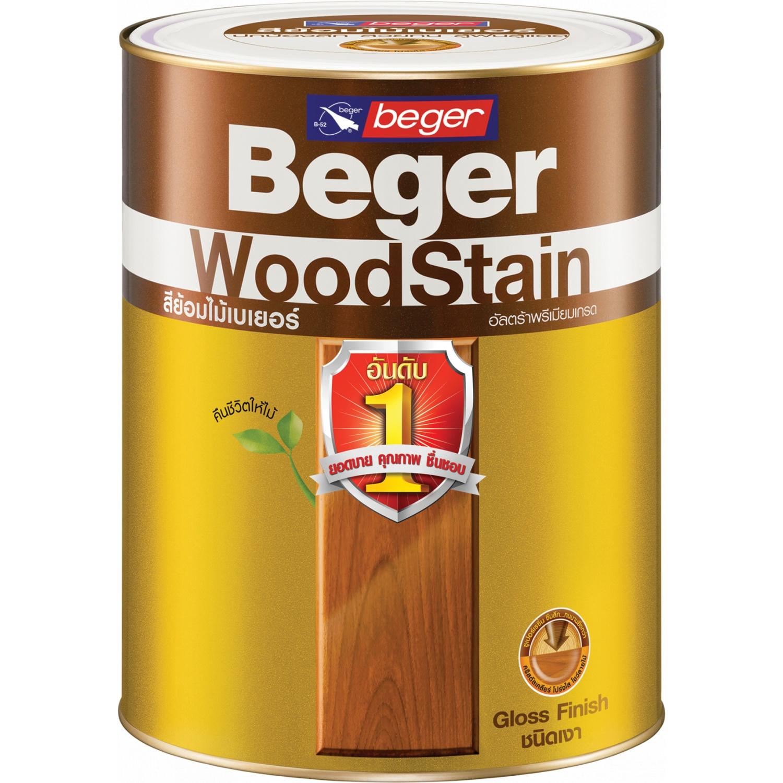 Beger สีย้อมไม้เงา G-1904สีไม้ประดู่กป.