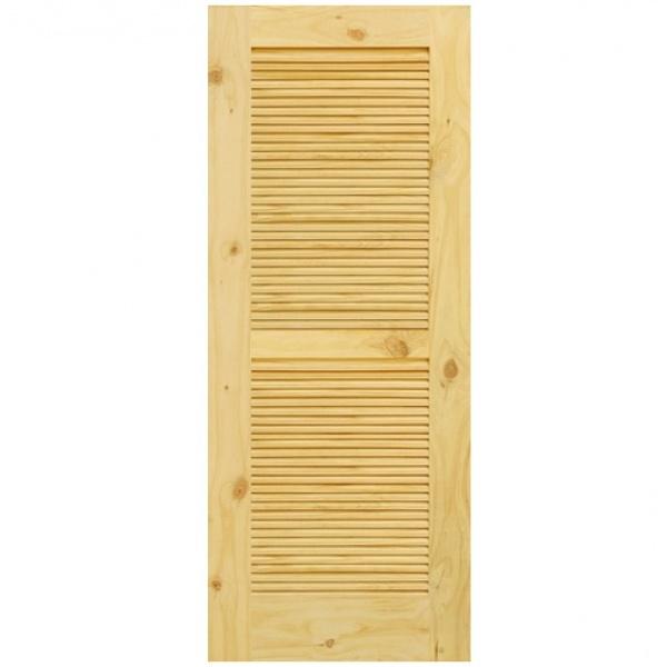 - ประตูไม้สนนิวซีแลนด์ ขนาด 70x180cm. Eco Pine-020