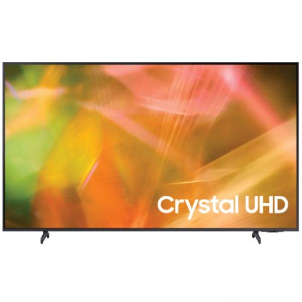SAMSUNG โทรทัศน์ Crystal UHD TV ขนาด 65 นิ้ว UA65AU8100KXXT สีดำ