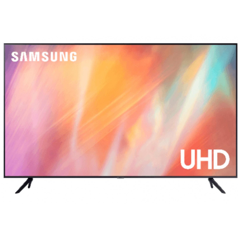 SAMSUNG โทรทัศน์ UHD TV ขนาด 55 นิ้ว UA55AU7700KXXT สีดำ
