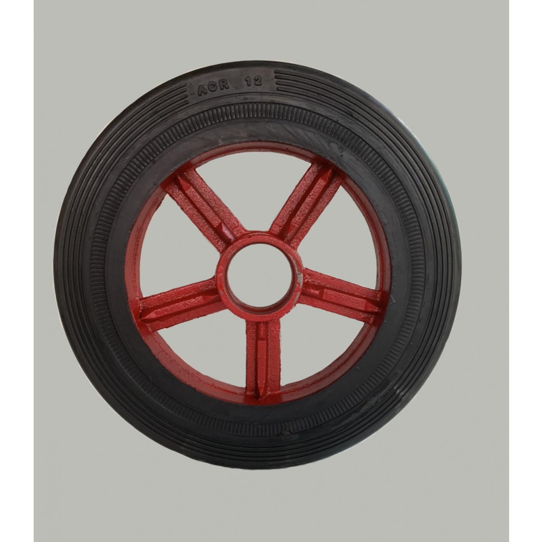 ACR ล้อรถเข็นล้อแม็ก ขนาด 12 นิ้ว PL0163 สีแดง