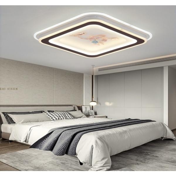 EILON โคมไฟเพดานตกแต่งบ้าน 112W ปรับได้ 2 แสง  KDX2066/500