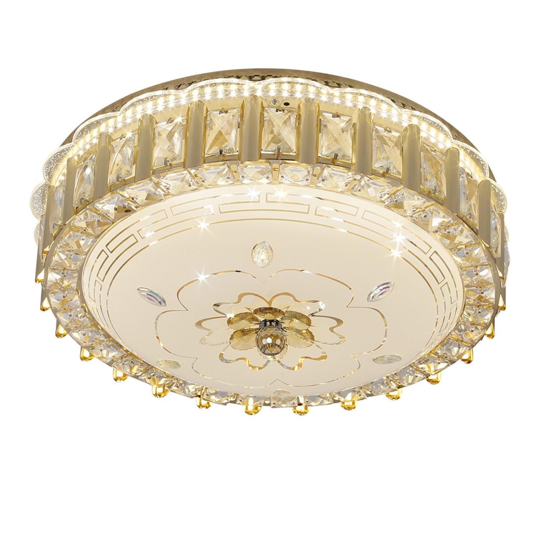EILON  โคมไฟเพดานคริสตัล 60W ปรับได้ 3 แสง KDX2038/500