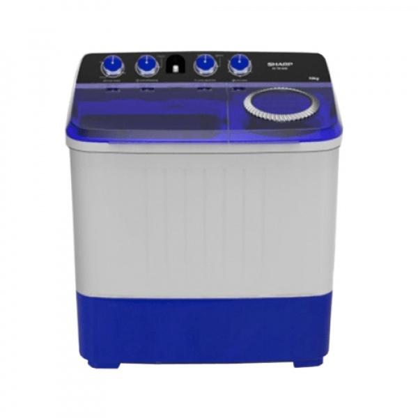 SHARP เครื่องซักผ้าสองถัง ES-TW120BL