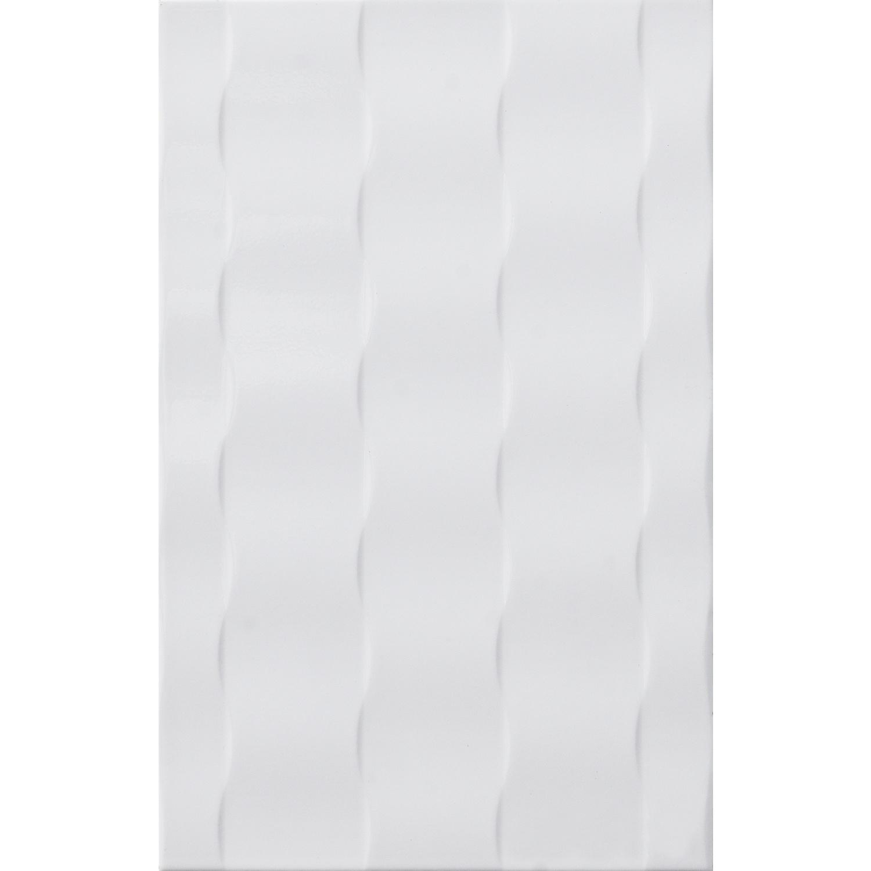 Marbella 10x16 กระเบื้องบุผนัง โฟเซ่น-ไวท์ ZX9020 (15P) A. สีขาว