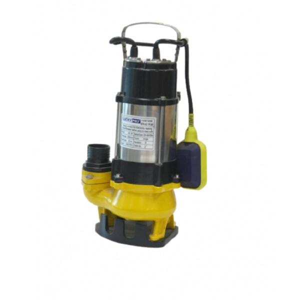 LUCKYPRO ปั๊มจุ่มน้ำเสีย  ขนาด 450 วัตต์  220 โวล์ท +ลูกลอย LP-V450F สีเหลือง