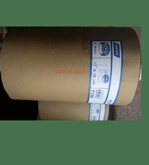 NORTON  กระดาษทรายม้วนอินโด  H231#120