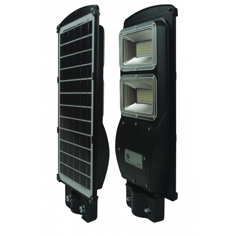 BEC โคมไฟถนน LED โซล่าร์ 60W 6000K   VIENNA สีดำ