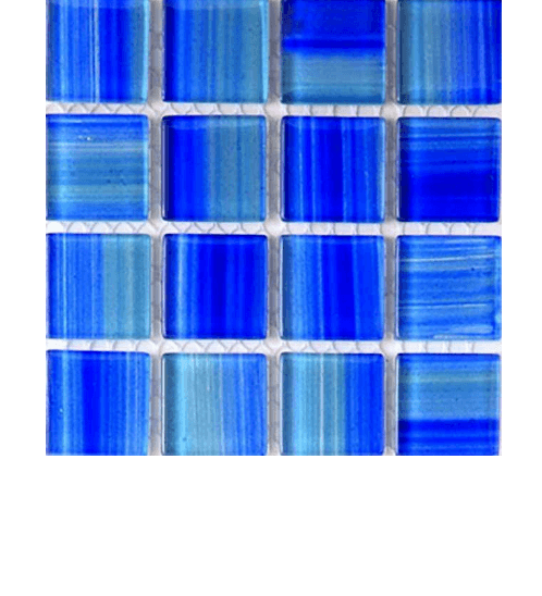 DURAGRES โมเสคแก้ว  GL-451 Fabric Blue