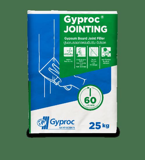 Gyproc ปูนฉาบรอยต่อยิปซัม สูตรมาตรฐาน ยิปรอค(25kg.) Jointing 60