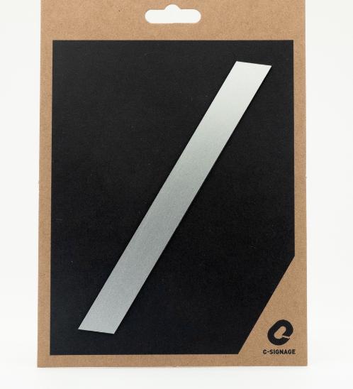 C Signage ป้ายอลูมิเนียม (อักษร /)แบบด้าน A1010