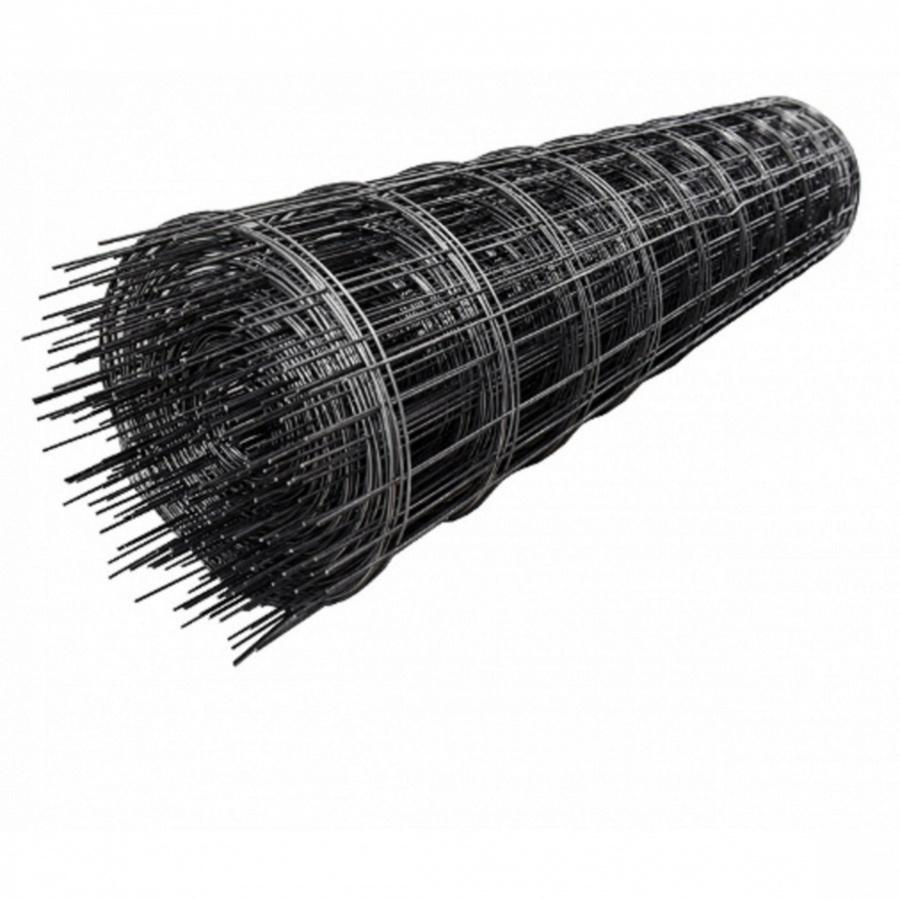 - ตะแกรงไวร์เมช  3.4 mm.20x20ขนาด2.5x50 (ม้วน) สีดำ
