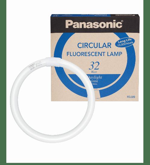 PANASONIC หลอดนีออนกลม 32 วัตต์ FCL32D สีขาว