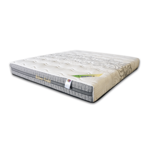 SLEEPER ที่นอน ขนาด 5 x 9 สี Zilver Gold ยางพาราอัดผ้านุ่ม