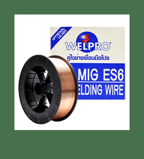 WELPRO ลวดเชื่อมมิก  CO2 ER-70-S6 0.8 mm. (15 kg) WELPRO  ลวดเชื่อมมิก  CO2 ER-70-S6 0.8 mm. (15 kg) WELPRO  สีขาว