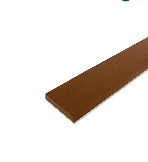 CONWOOD ไม้รั้วหัวตัด  1.0 m สีสัก