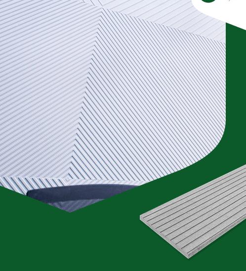 CONWOOD ไม้ตกแต่งผนังคอนวูด หน้า 8 นิ้ว รุ่นอะเรย์เอ็น ลายแคบ ยาว1.50เมตร ลายเสี้ยน สีธรรมชาติ