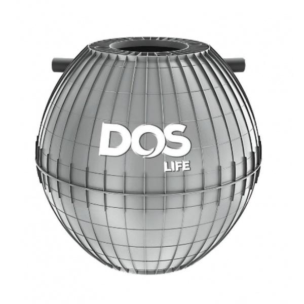 DOS ถังดักไขมันใต้ดิน ขนาด 1000L  SGT-21/GY สีเทา