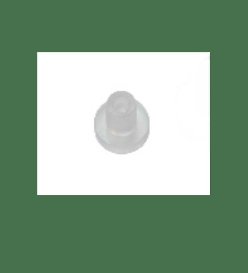 ปุ่มPVCนิ่มพร้อมเดือย  ขนาด17mm.   PVC-17 (10ชิ้น/แพ็ค) ใส