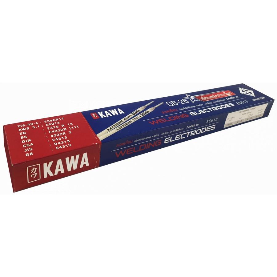 KAWA ลวดเชื่อมเหล็กเหนียวกัลวาไนซ์ ขนาด 2.6 มม. GB-26