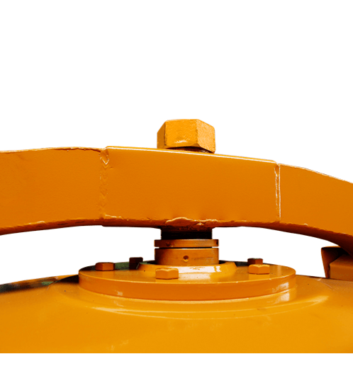 MARTON  เครื่องผสมปูนเหล็กเหนียว 2 ถุง ขนาด  420 ลิตร JCMT 3 สีส้ม