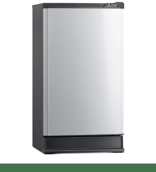 MITSUBISHI ตู้เย็น MR-14PA-SL สีเทา