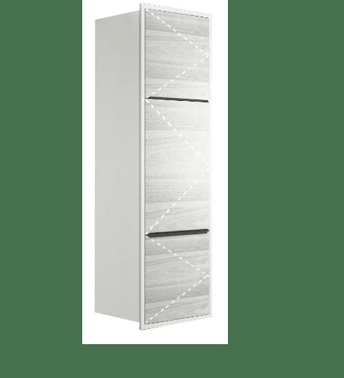 KITZCHO ตู้สูงครัวปูนบานเปิดขวา  KEM-GLR-S-FT-2C50R-CW  GLOSSY